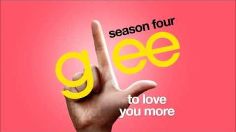 To Love You More - Glee Cast HD FULL STUDIO