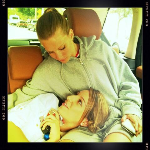 File:Dianna Pic Two angels on the way back from our lunch break. Miss Heather & @littlelengies 2.5.12.jpg