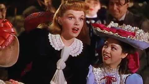 Judy Garland - The Trolley Song (Meet Me In St. Louis, 1944)