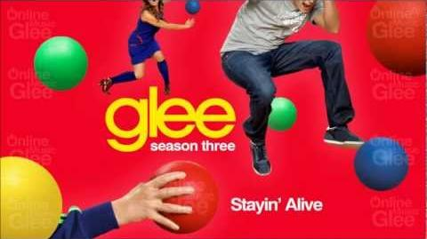 Stayin' Alive - Glee HD Full Studio