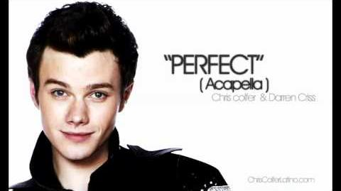 Perfect (Acapella) Chris Colfer ft