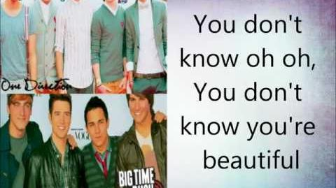 One Direction ft. Big Time Rush - What Makes Our Life Beautiful (Lyrics)