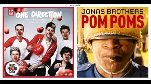 One Way or Another (Teenage Kicks) vs. Pom Poms (Mashup) - One Direction & Jonas Brothers