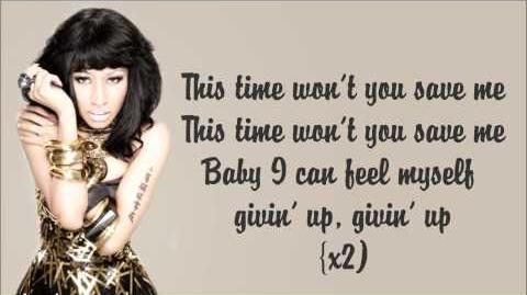 Nicki Minaj - Save Me Lyrics Video