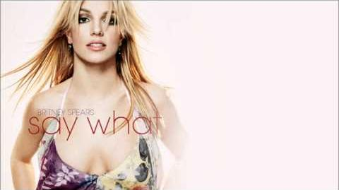 Britney Spears - Pleasure You (Say What) feat