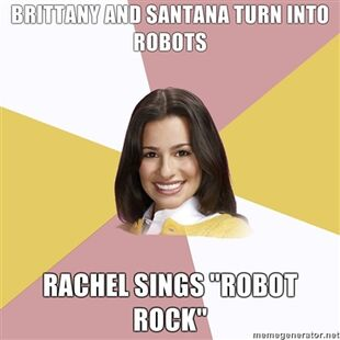 Brittany-and-Santana-turn-into-robots-Rachel-sings-Robot-Rock