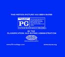 MPAA Rating IDs