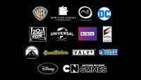 LEGO Dimensions Logo Sponsors