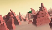 Kilowog chases the Interceptor