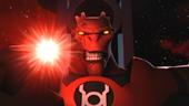 Atrocitus's power ring glows