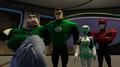 Kilowog, Hal Jordan, Aya, Razer - Flight Club.png