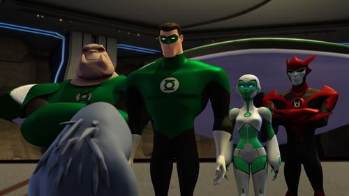 File:Kilowog, Hal Jordan, Aya, Razer - Flight Club.png