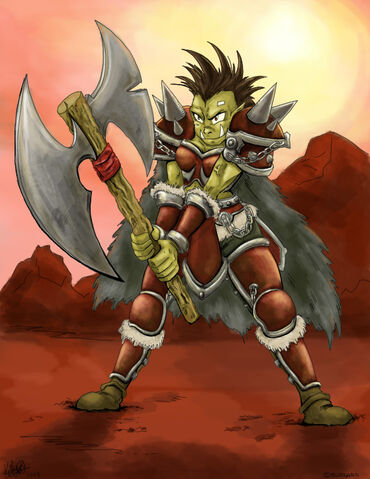 File:Orc Warrior by Cadychan.jpg