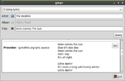 Screenshot-gmpc-lyricwiki