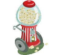 Popcorn Cart (200)