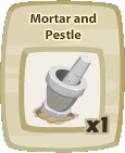 Inv Mortar And Pestle