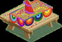 Streamers Festival Table