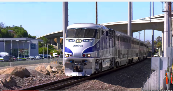 454 love two superliners and express Surfliner