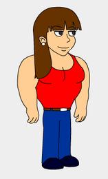 Becky muscular version