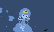 Adventure time water princess oc by xxm3hpandiexx-d4vrplt