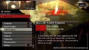 R6 Exiled Emperor