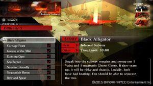 R5 Black Aligator