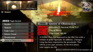 UR7 Queen of Obstruction