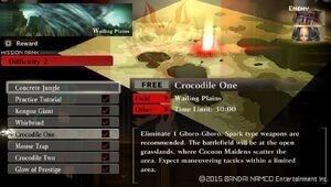 R2 Crocodile One