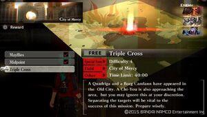 UR4 Triple Cross