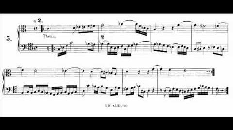 Bach - Musical Offering - Endlessly Rising Canon (Karl Richter)