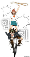 Mo-Ri and Mi-Ra team up