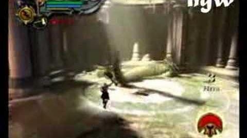 God of War II - Euryale Boss Battle