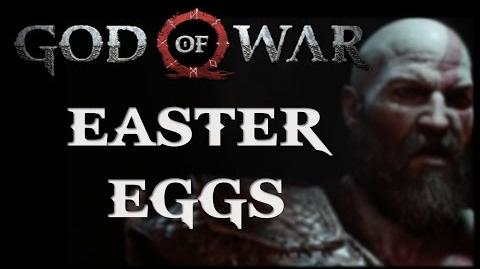 God of War E3 2016 Gameplay Trailer Easter Eggs
