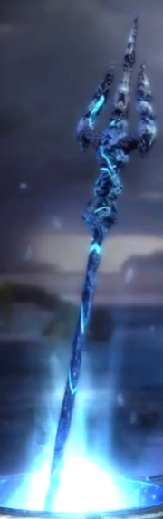 The trident of Olympus