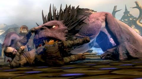 God of War Ascension Manticore Boss Fight