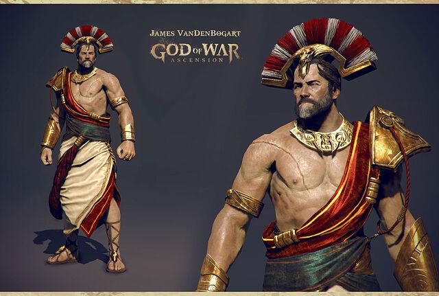File:King of Sparta 3D model.jpg