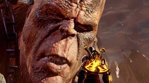 God of War 3 Remastered Cronos Boss Fight PS4 (1080p 60fps)