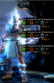 Godly Battle Armor of Poseidon