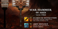War Hammer of Ares