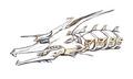 Concept Art - Godzilla vs. King Ghidorah - Mecha-King Ghidorah Head 5