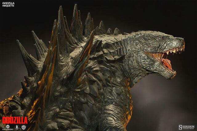 File:Sideshow Collectibles 24-inch Godzilla 2014 Maquette 3.jpg