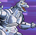 Gojira Godzilla Domination - Battle Sprites - MechaGodzilla 2