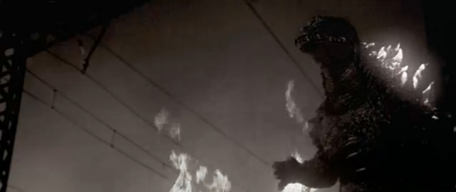 File:Godzilla vs. Megaguirus - Godzilla recreates Gojira 2.png
