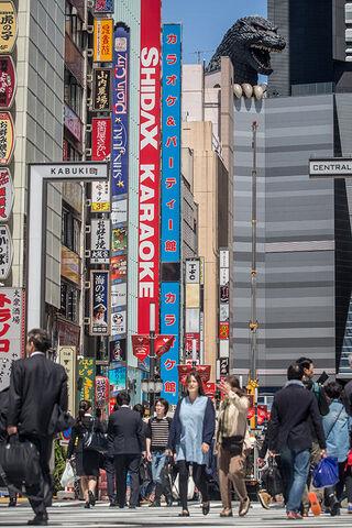 File:View of Godzilla hotel in street.jpg