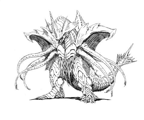 File:Concept Art - Rebirth of Mothra 2 - Dagahra 16.png