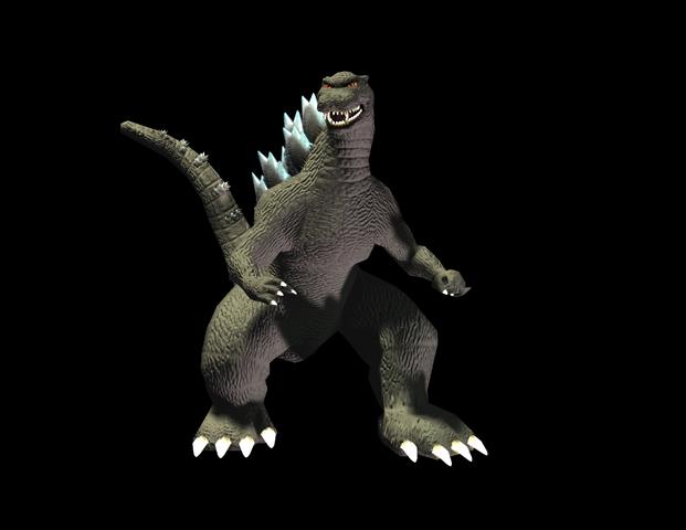 File:GDAMM Artwork - Godzilla 90s.png
