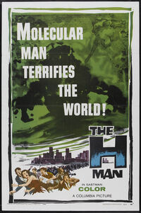 H-Man American Poster