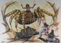 Concept Art - Yamato Takeru - Spider Kumasogami 1