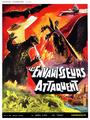 Destroy All Monsters Poster France