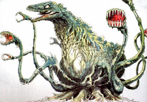 File:Concept Art - Godzilla vs. Biollante - Biollante 19.png